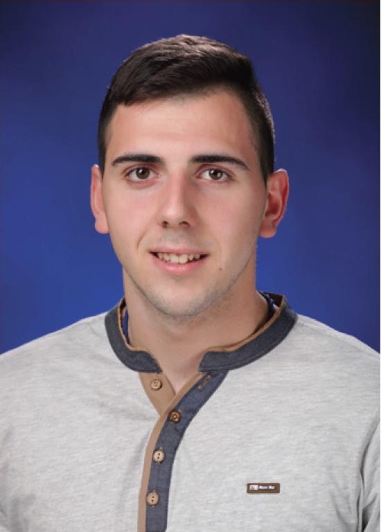 Ђак генерације 2014/2015. године Богдан Адамовић